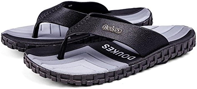 Jusheng Slip Slipper Classique pour Hommes Summer Beach Slipper Slip 7a4749