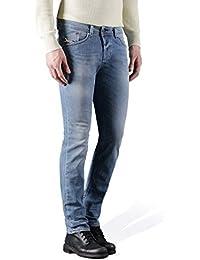 Diesel Homme 842H Darron régulières Slim Tapered Jeans, Bleu