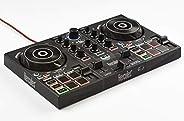 Hercules DJControl Inpulse 200 – Controlador DJ con USB, adecuado para principiantes que están aprendiendo a m