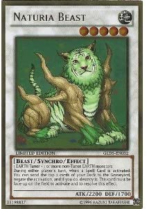 Yu-Gi-Oh! - Naturia Beast (GLD5-EN032) (GLD5-EN032) (GLD5-EN032) - Gold Series: Haunted Mine - Limited Edition - Gold Rare by Yu-Gi-Oh!   Outlet Store  9cef09
