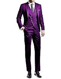 Suit Me Hommes 3 pi¨¨ces Costume Slim Fit veste de smoking costumes de 7882306457a
