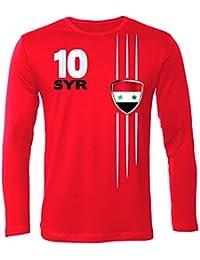 SYRIEN FANSHIRT - T-Shirt Herren Longsleeve Gr.S bis XXL