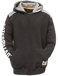 Caterpillar C1910802 Logo Panel Hooded Jumper Vêtements de travail Sweatshirt