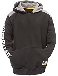 Caterpillar C1910802 Logo Panel Hooded Jumper Vêtements de travail Sweatshirt