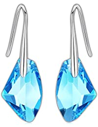 b77ab707e593 Swarovski Pendientes Mujer- Aretes de Plata Fina 925 para Mujeres con Cristales  Swarovski de GoSparkling
