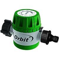 Orbit 97004 - Temporizador mecánico (11,43 x 6,35 x 7,94 cm), Color Verde