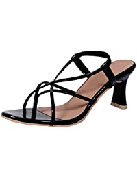 Indiweaves Womens Fashionable & Stylish Party Wear Casual And Formal High Heel Sandals For Women
