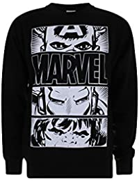 Marvel Hero Eyes Light, Camiseta para Hombre