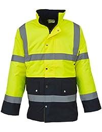 Haute visibilité à deux tons veste de l'autoroute (HVP302)