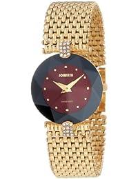 Jowissa J5.014.M - Reloj analógico de cuarzo para mujer con correa de acero inoxidable, color dorado