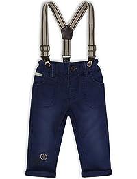 The Essential One - Baby Kinder Jungen Hosen mit Hosenträger - Marineblau - EOT193