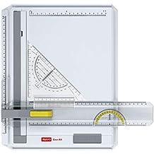 Aristo Geo-Board - Tablero de dibujo A4 de plástico resistente, color blanco