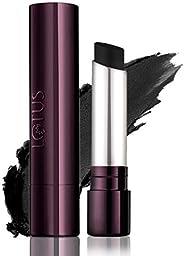 Lotus Makeup Proedit Silk Touch Matte Lip Color, Black, 4 g