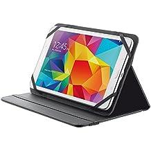 """Trust Primo Folio - Funda para tablet de 8"""" (soporte de sobremesa), color negro"""