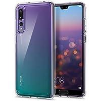 Spigen [Ultra Hybrid Funda Huawei P20 Pro con Tecnología de cojín de Aire y protección híbrida de la Gota para Huawei P20 Pro (2018) - Transparente