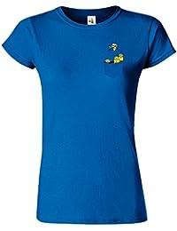 Minion Pocket Womens Tshirt Méprisable Moi Personnages