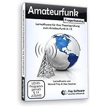 """""""Amateurfunk"""" - Lernsoftware für die Theorieprüfng zum Amateurfunkzeugnis Klasse A + Klasse E"""