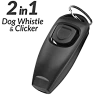 Eadair Dog Clickers For Training And Dog Whistles That Makes Dogs Come To You