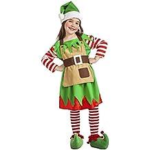 Disfraz de Elfa de Navidad para bebé