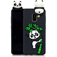 Everainy Samsung Galaxy A8 Plus 2018/A8+ (2018) Silikon Hülle 3D Panda Muster Ultradünn Hüllen Handyhülle Gummi... preisvergleich bei billige-tabletten.eu