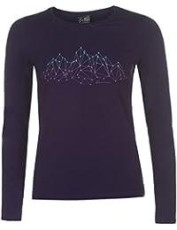 Karrimor Womens Oganic Long Sleeve Outdoor T Shirt Performance Top Crew Neck