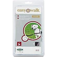 PetSafe Easy Walk Harness for Dogs, Medium, Black/Beige , 1.8 m Lead