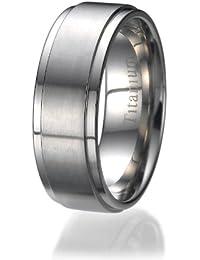 8mm Titan keltischen Drachen Gold-Inlay Flachpassform Hochzeit Bandring