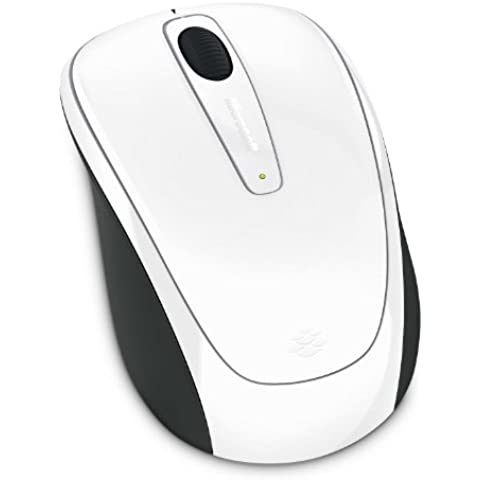 Microsoft Wireless Mobile Mouse 3500 - Ratón inalámbrico, compatible con Mac y Windows, color