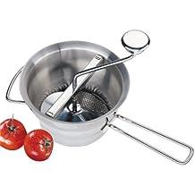 Küchenprofi 0966002820 Profi-Passiergerät, Edelstahl, silber, 12,1 x 22,2 x 39,4 cm