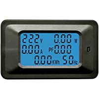 Mengonee 110-250V P06S-20A/P06S-100A Multi-Funktionen digitale LCD-Anzeige ARM-Prozessor Voltage Power Meter-Monitor
