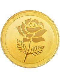 Malabar Gold & Diamonds 24k (999) Rose Combo 3 gm (2 + 1 Gm) Yellow Gold Coin