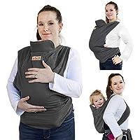 les Nourrissons et les Tout-petits GudeHome Classique Porte-b/éb/és R/églable Baby Wrap Convient pour Nouveau-n/és