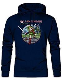 Hylian Maiden Hoodie Sudadera con Capucha Sweatshirt Tamaños S – 2XL