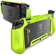 Mumba Dockable Case for Nintendo Switch, [Blade Series] TPU Grip Protective Cover Case Compatible with Nintend