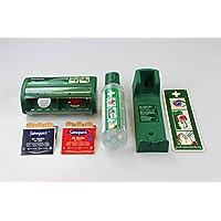 Cederroth FLEXEO-Erste-Hilfe-Spar-Set, mit Augenspülflasche inkl. Wandhalterung und Pflasterspender ink. Füllung preisvergleich bei billige-tabletten.eu