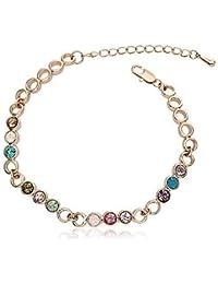 Bracelet OUXI Swarovski Elements multicolors