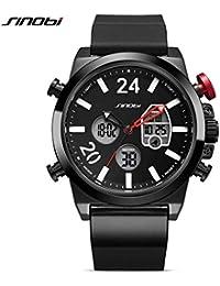 Hermosa Watches Sinobi / 9732 Hombres Reloj de los Hombres de Moda Relojes de Movimiento japonés
