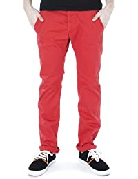 Dr. Denim Donk Chino Hose Red