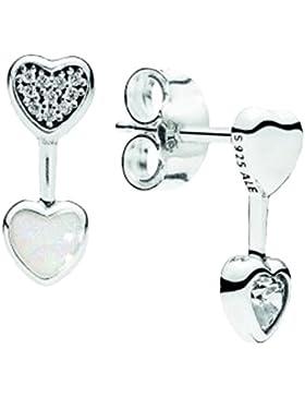 Pandora 290750CZ Ohrstecker Herzen der Liebe