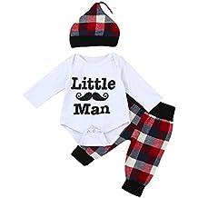 ropa bebe nino recien nacido otoño Switchali Impresión blusas bebe niña manga larga Camisetas Bebé Conjuntos moda camisa + Pantalones largos + Sombrero (3 piezas)