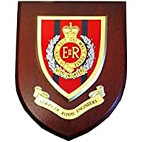 Royal Engineers Military Wall Plaque