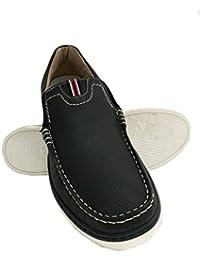 Zerimar Zapato Náutico de Piel para Hombre Tallas Grandes Náutico para Hombre