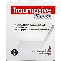 TRAUMASIVE Film 15x15cm Hydr 5 St Verband preisvergleich bei billige-tabletten.eu
