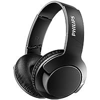 Philips BASS+ SHB3175BK Casque Bluetooth sans Fil avec Micro, Isolation Sonore, 13h Autonomie, Basses Puissantes, Noir