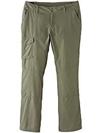 Columbia Mujer Pantalón, Silver Ridge, Verde (Cypress), Talla: 42