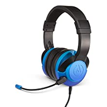 FUSION Gaming Headset/Headphones for Xbox, PS4, Nintendo Switch, PC, Mac, Mobile - Sapphire Fade