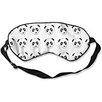 Sleep Eye Mask Cute Panda Head Lightweight Soft Blindfold Adjustable Head Strap Eyeshade Travel Eyepatch preisvergleich bei billige-tabletten.eu