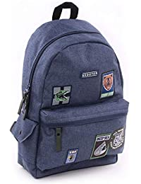 Preisvergleich für Skooter Backpack Mask Off Blue Kinder-Rucksack, 39 cm, Blau (Blue)