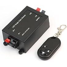 Pinzhi - Nuevo Controlador Regulador Dimmer Inalámbrica LED Mando a Distancia 12-24V RF