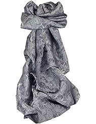 Foulard de Soie Réversible Vietnamienne Hoi-An Silk Weave Ha-Long Quartz par Pashmina & Silk
